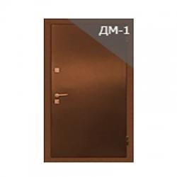 """Дверь металлическая однополая """"Сократ"""" ДМ-1 HDF с внутренней отделкой HDF"""