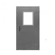 Дверь металлическая техническая ДМ-1 (однополая с остеклением)